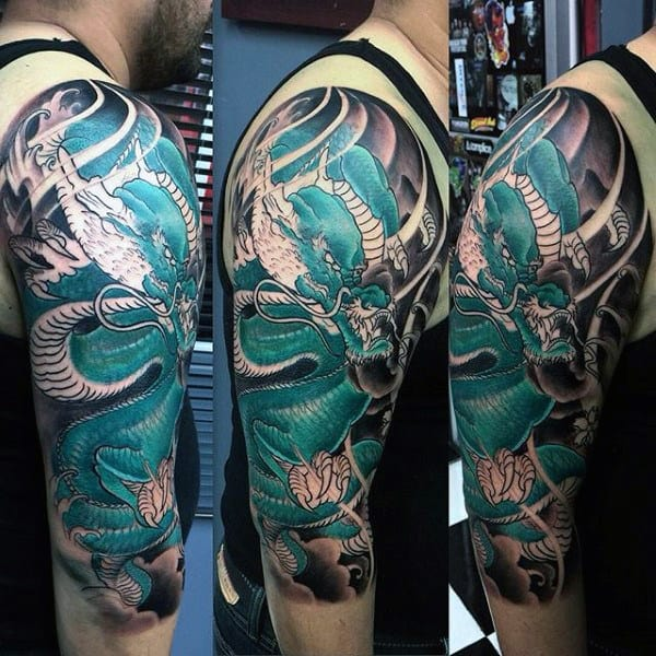 50 Deadly Dragon Tattoos For Men