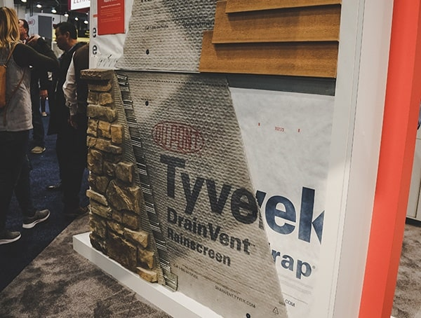 Drainvent Rain Screen2019 Nahb Show Tyvek
