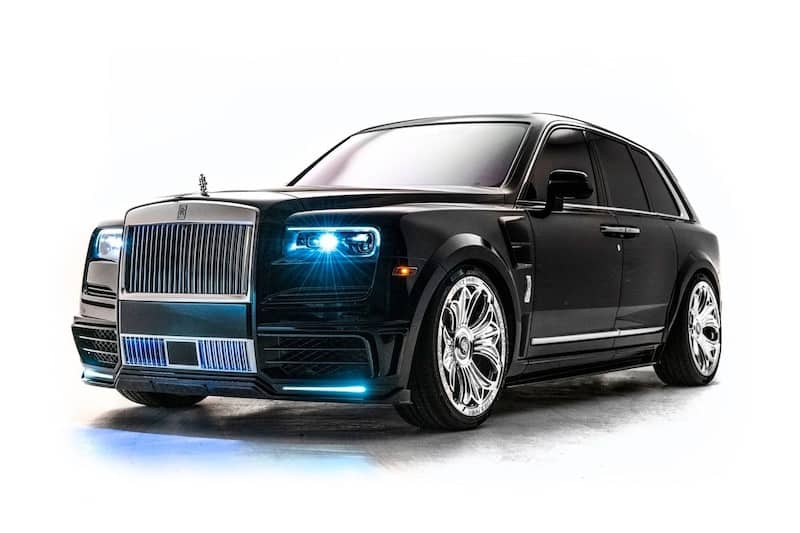 Check Out Drake's One of a Kind Chrome Hearts Rolls-Royce Cullinan