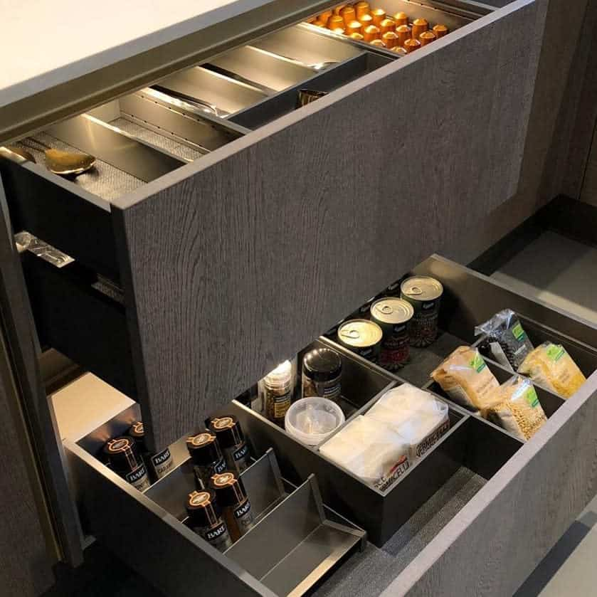 drawer divider kitchen organization ideas nestkitchens