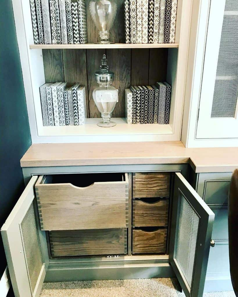 drawer office storage ideas norfolklivingkitchens