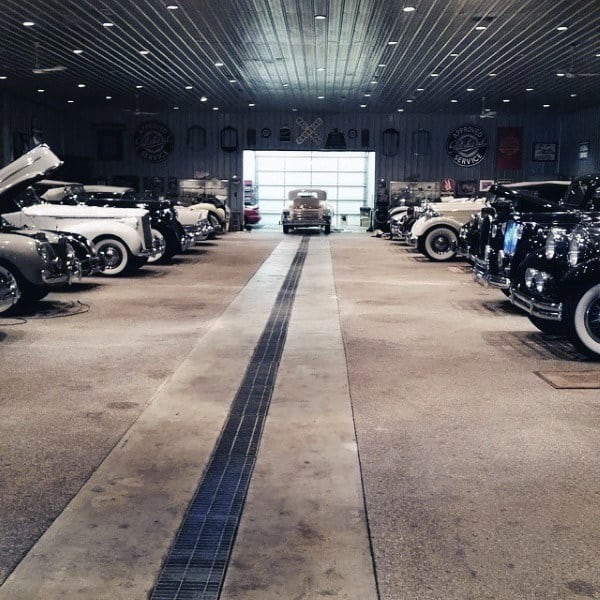 Dream Car Garage Ideas Collectors Showroom