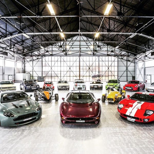 Dream Exotic Car Garage
