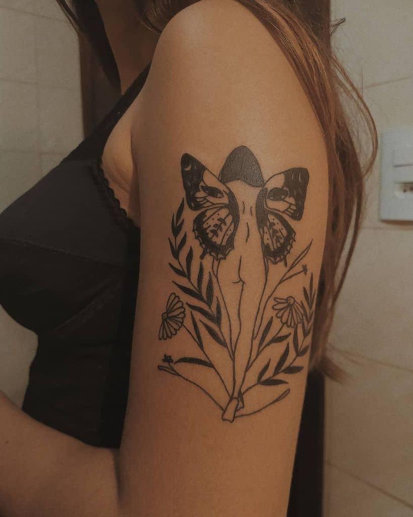 Dream Girl Fairy Tattoo