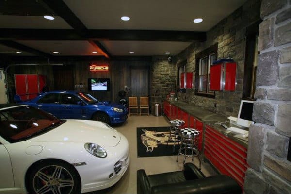 Create A Garage Man Cave That Is Ideal For You Pictures To Pin On Pinterest