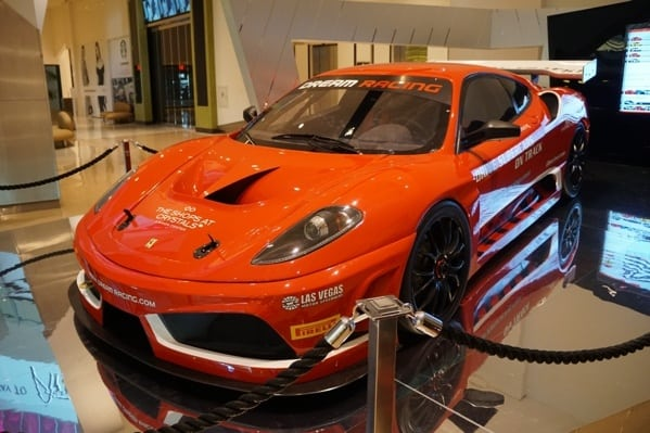 Dream Racing Ferrari Pick Up Point Crystal Mall Aria