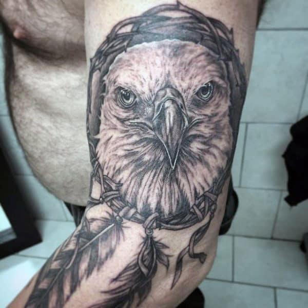 Dreamcatcher Tattoo Men On Arm