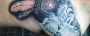 100 Dreamcatcher Tattoos For Men – Divine Design Ideas