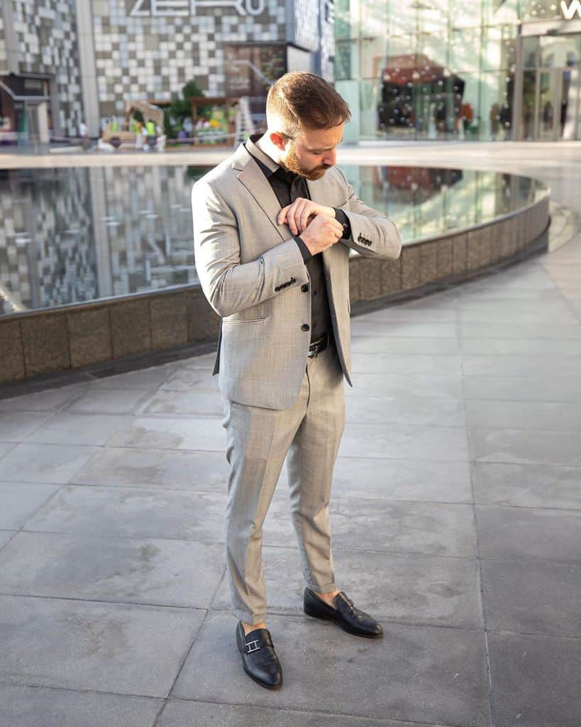 Dress To Impress Gray Suit Mens Wear
