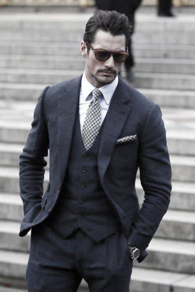 Dressy Navy Blue Suit Mens Fashion Ideas