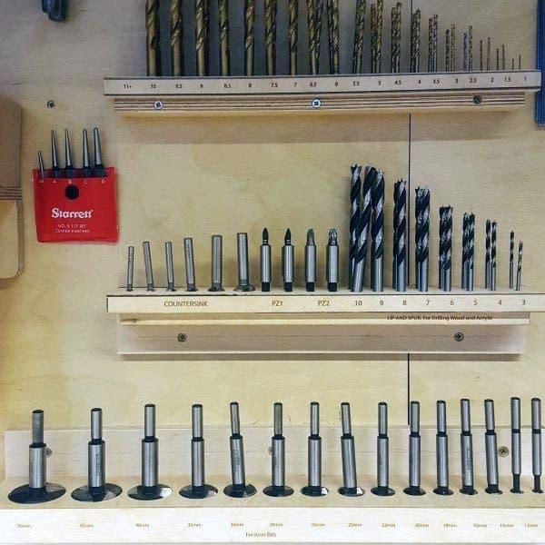 Drill Bits Tool Storage Ideas