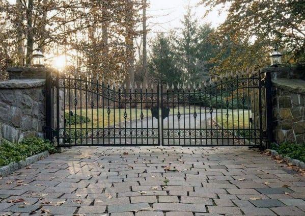 Driveway Gate Ideas Iron