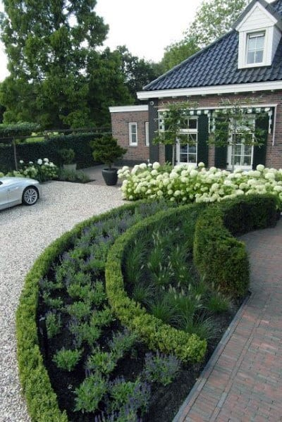 Driveway Landscaping Spectacular Ideas
