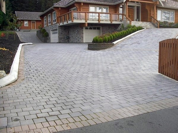Top Best Driveway Ideas Designs Between House And Curb