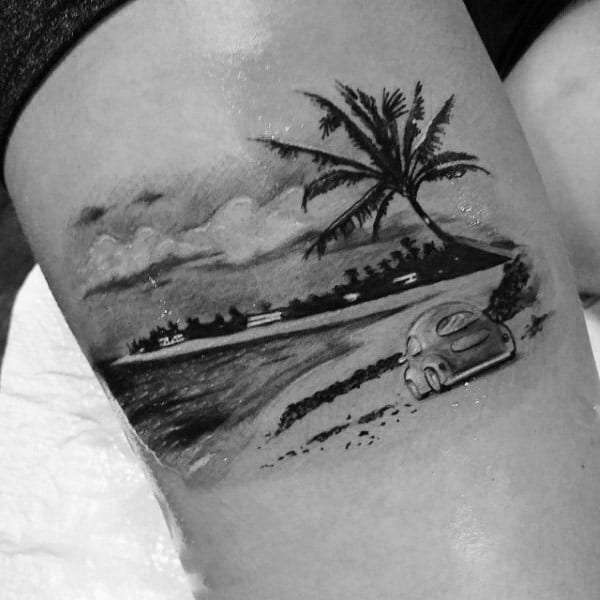 100 Palm Tree Tattoos For Men