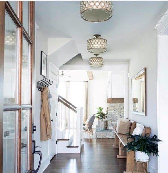 Drum Ceiling Chandelier Hallway Lighting Ideas Inspiration