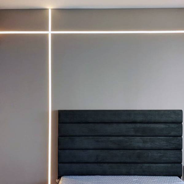 Drywall Reveal Bead Led Superb Bedroom Lighting Ideas