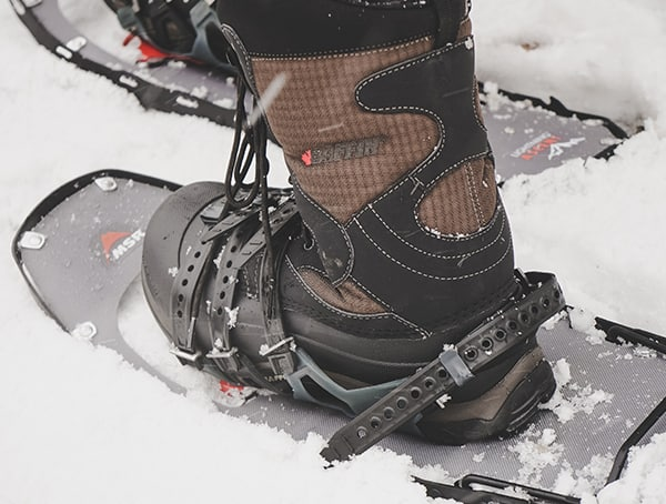 Dual Posilock At Bindings Msr Lightning Ascent Snowshoes Review