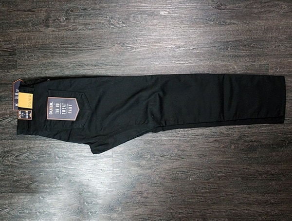 Duer Black No Sweat Slim Pants Review