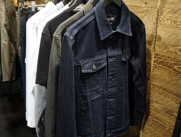 Duer Mens Denim Jacket Outdoor Retailer Winter Market 2018
