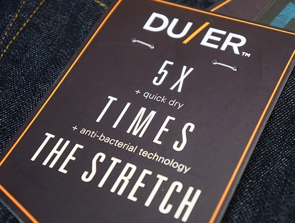 Duer Mens Jeans 5x Times The Strech