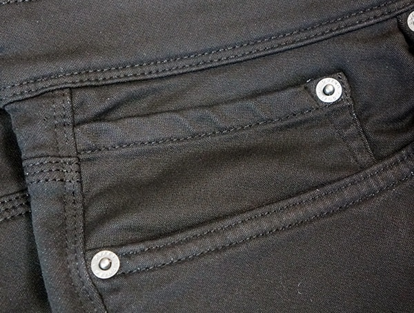 Duer No Sweat Slim Pants Review Stiching Detail
