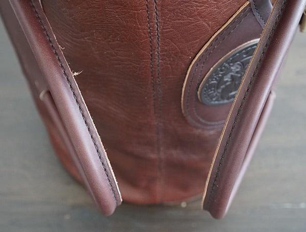 Duluth Pack Bison Leather Sportsman Duffel For Men Handles
