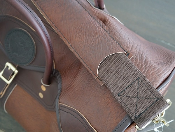 Duluth Pack Bison Leather Sportsman Duffel Strap