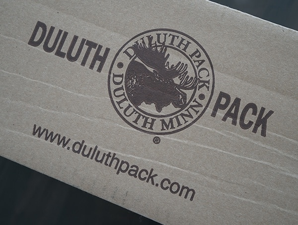 Duluth Pack Package Box