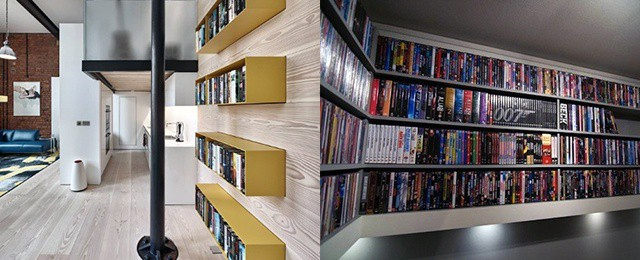 40 Dvd Storage Ideas Organized Movie Collection Designs