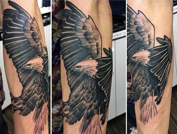 Eagle Shoulder Tattoos For Men