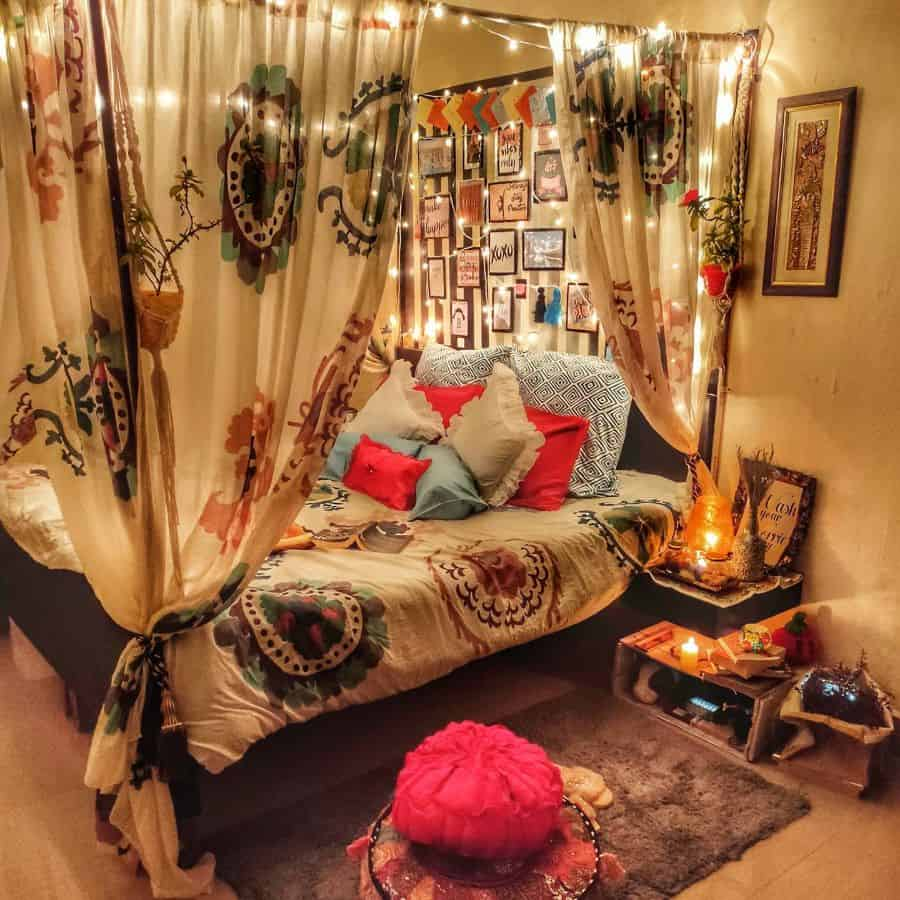 eclectic or gypsy boho bedroom ideas thevworld_