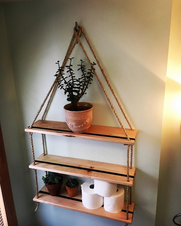 Eco Poxy Diy Bathroom Shelf Luccichio.woodworks.vt