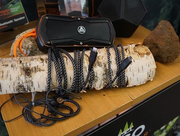 Eco Survivor Usb Charging Cord And Speaker