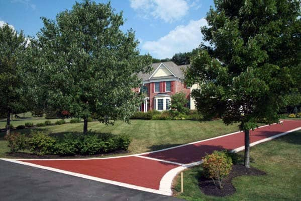 Edging Ideas For Red Brick Driveway