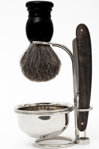 Edwin Jagger Horn And Nickel Shaving Kits For Men