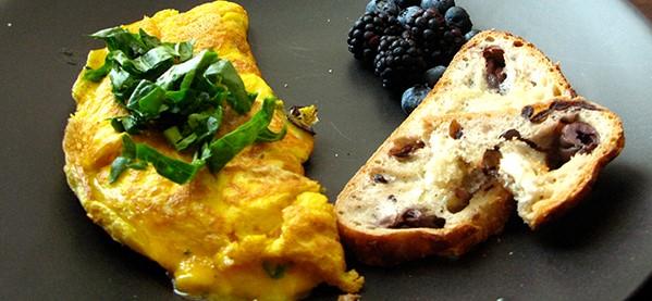 Egg Veggie Omlet Pre Workout Meals