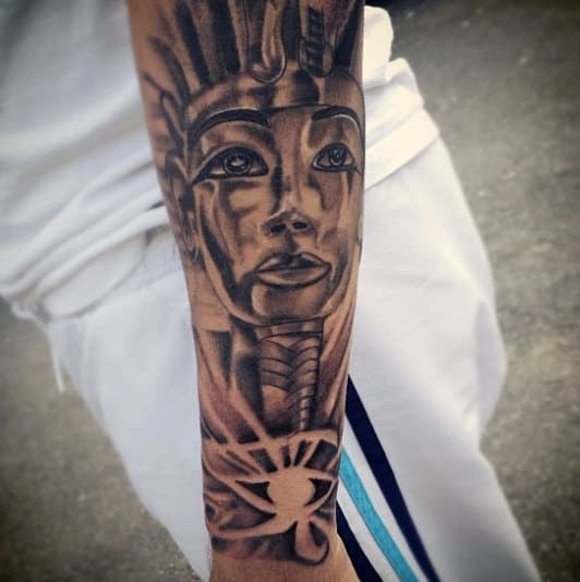 050066759 60 Egyptian Tattoos For Men - Ancient Egypt Design Ideas