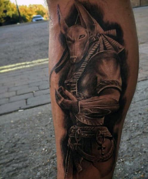 Egyptian Inspired Men's Tattoos