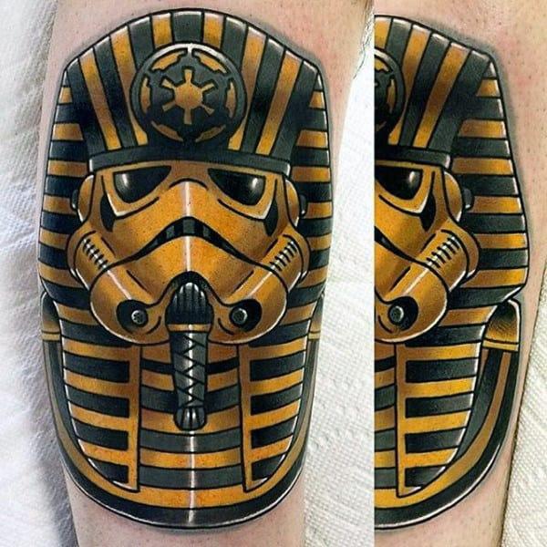 100 Stormtrooper Tattoo Designs For Men - Star Wars Ink Ideas Darth Vader Tattoo