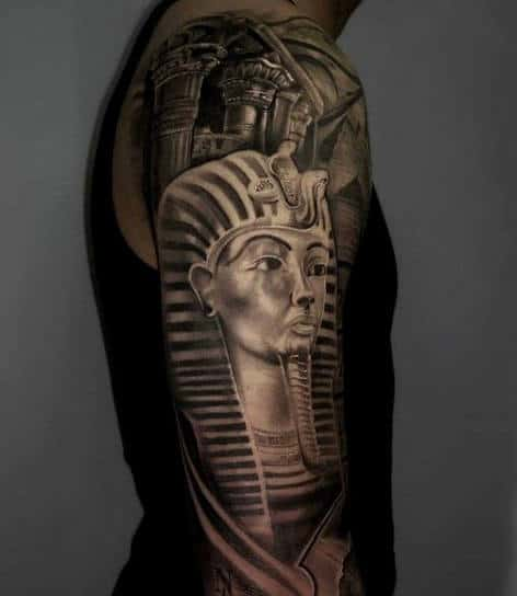 Egyptian Sphinx Tattoo For Men