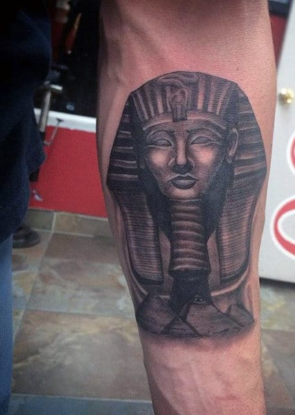 Egyptian Symbol Tattoos For Men