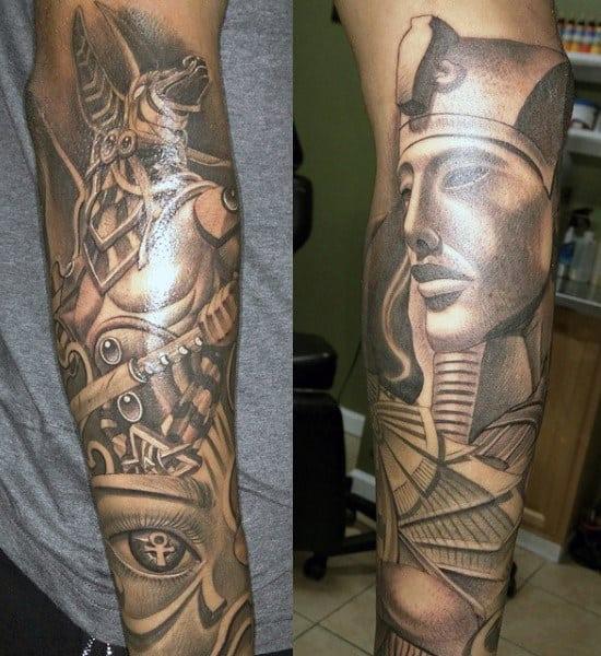 Egyptian Symbols Tattoo For Men
