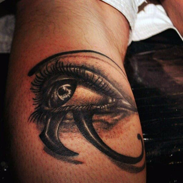 Eye Of Horus Egyptian Tattoos And Meanings For Men