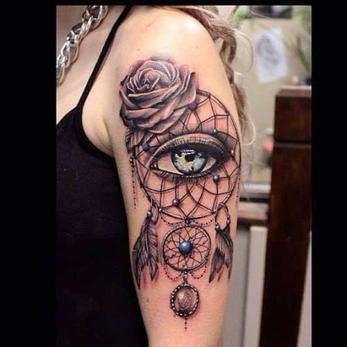 Egyptian Third Eye Tattoo