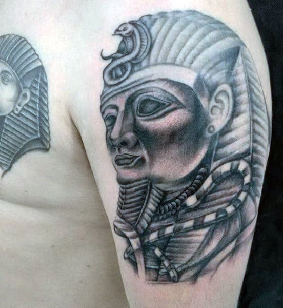 Egyptian Writing Men's Tattoos