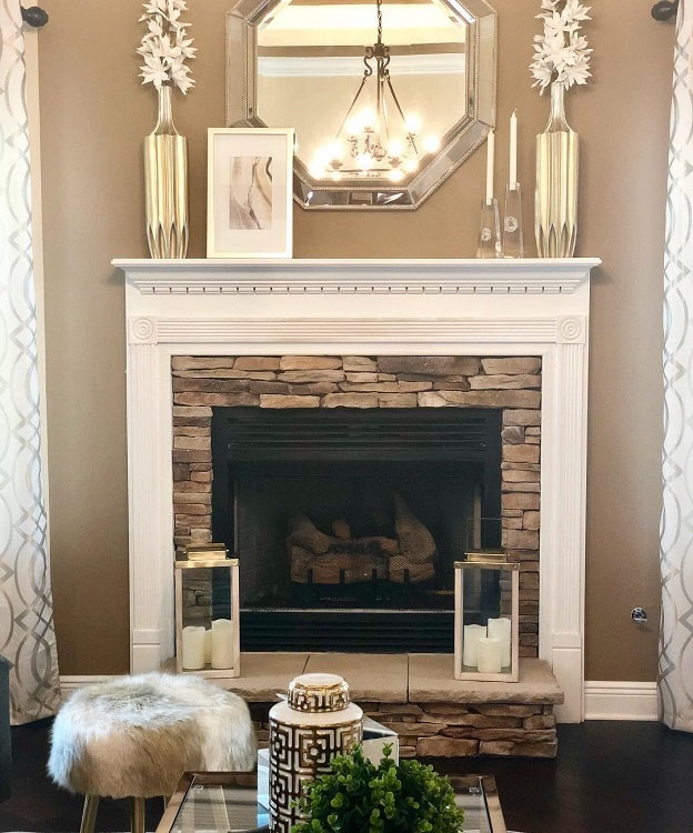 Electric Fireplace Mantel Decor Ideas Saltgrassdecor