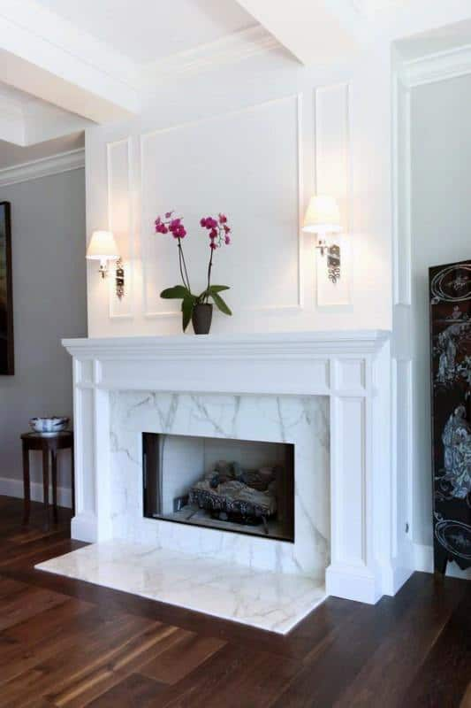 Discover a frame to the masterpiece with the top 60 best fireplace mantel designs. Explore luxury interior surround ideas and architecture inspiration.