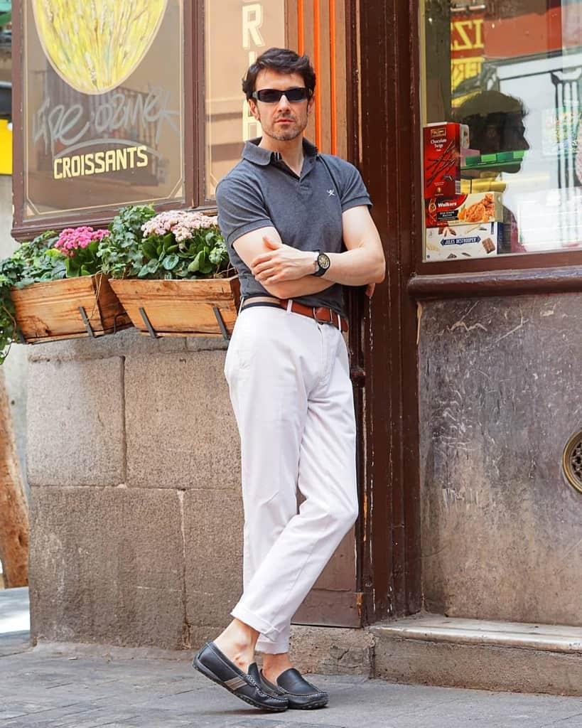 Style de rue homme élégant