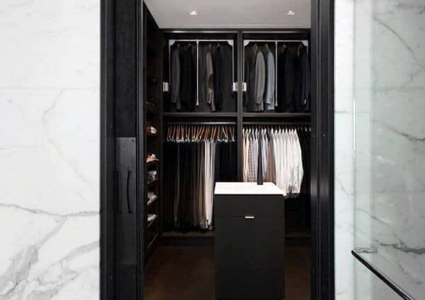 Elegant Modern Mens Closets